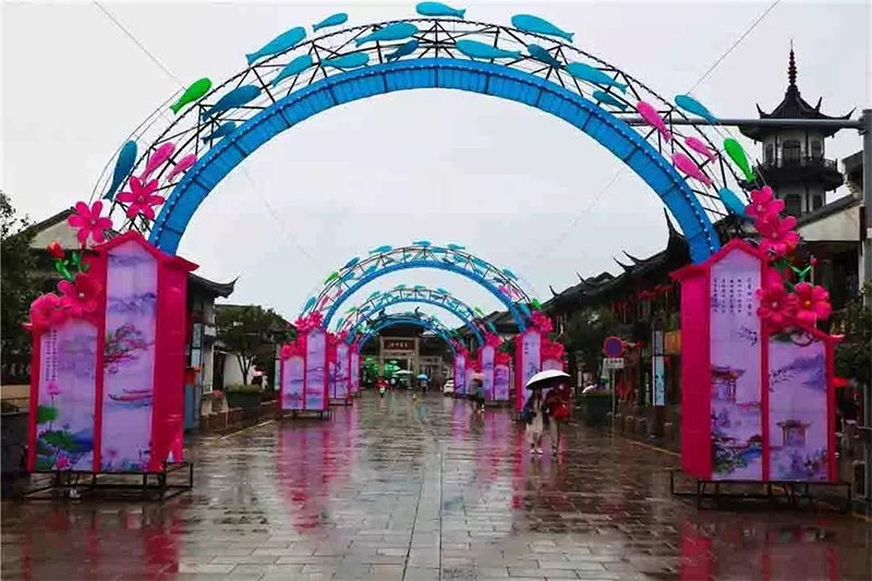Dragon Culture | Colorful lights on both sides of the strait, a total of Mid-Autumn Festival